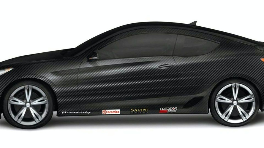 Hennessey Students Create 500hp Genesis Coupe for SEMA