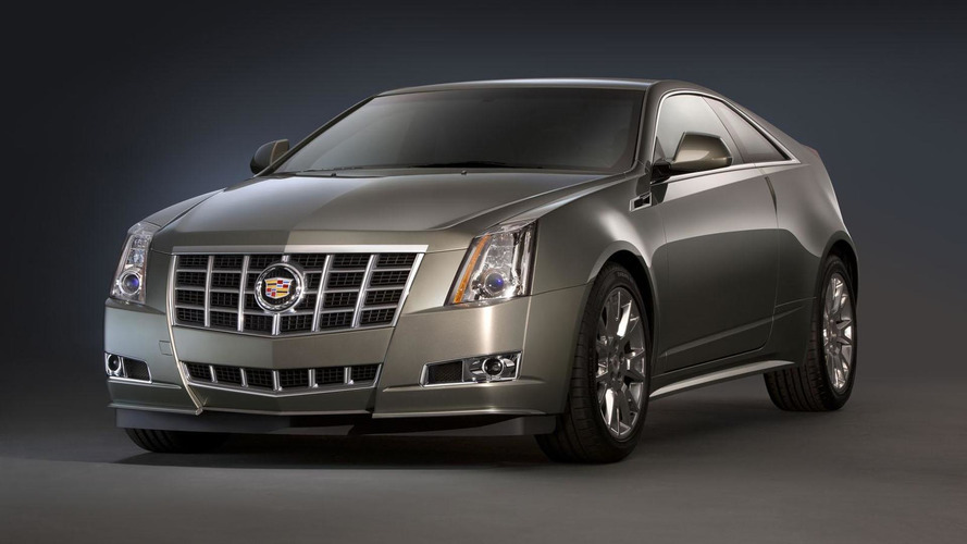 2012 Cadillac CTS facelift unveiled
