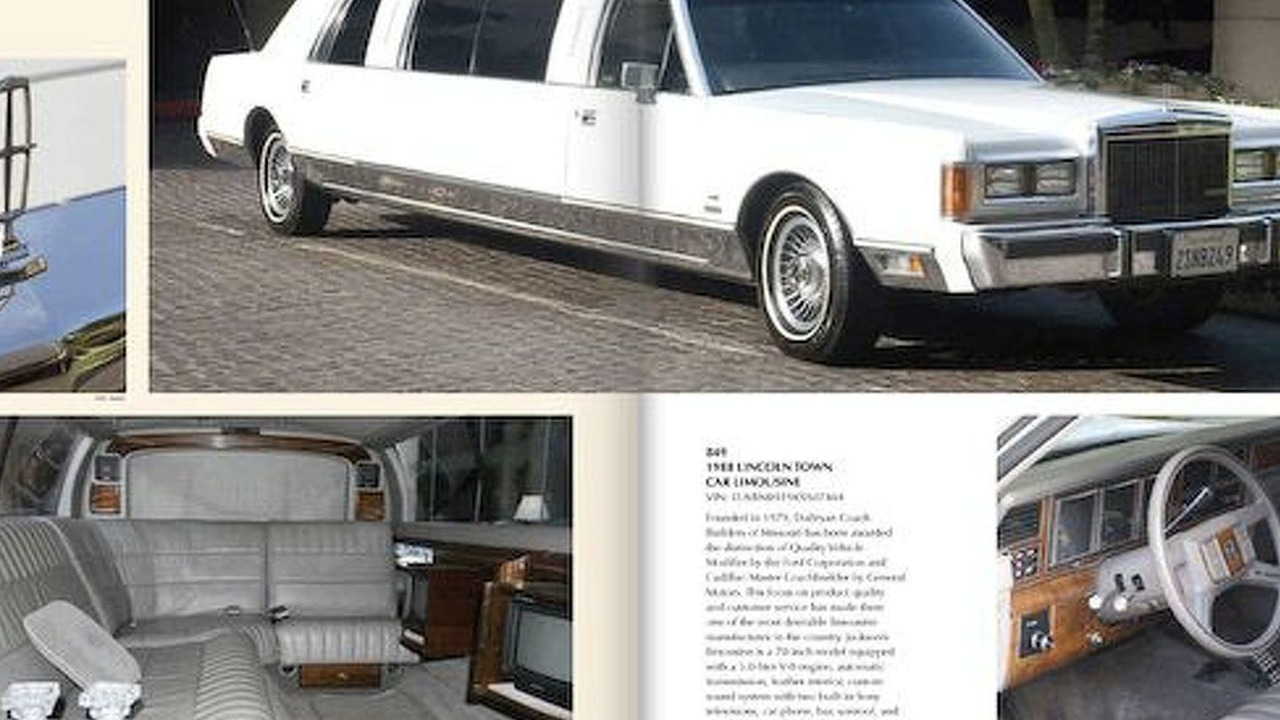 Michael Jackson 1988 Lincoln Town Car Limousine Motor1 Com Photos