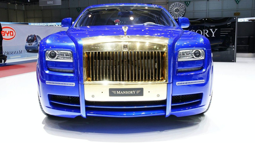 Mansory's Rolls Royce Ghost Evokes Strong Reactions in Geneva