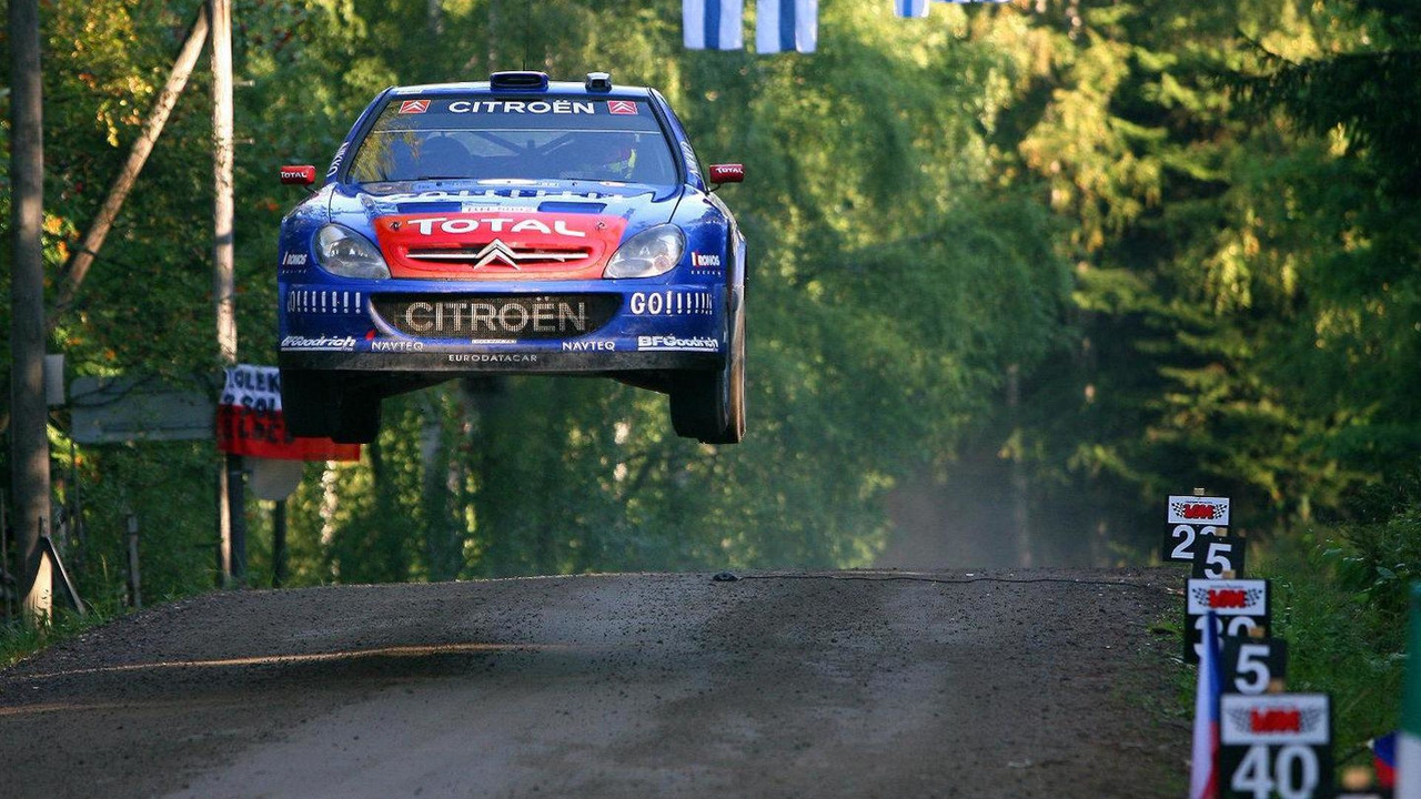 2006 Rally Finland Sebastien Loeb 22.07.2010