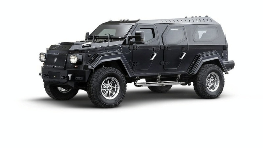 Knight XV Armoured Biofuel SUV to be Displayed at Barrett-Jackson Event