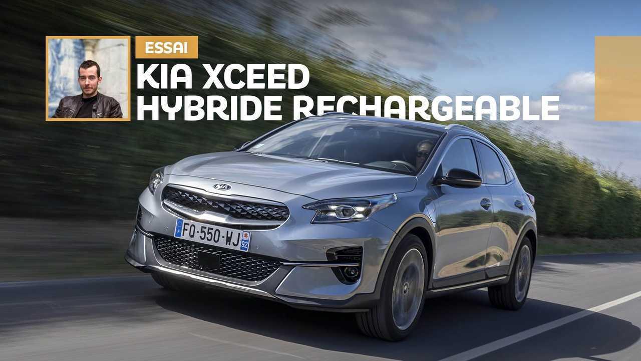 Essai Kia XCeed hybride rechargeable