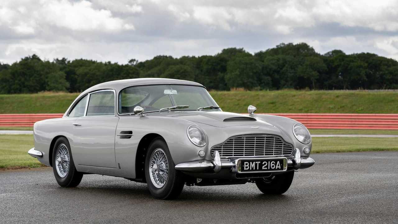 Первая реплика Aston Martin DB5 Goldfinger