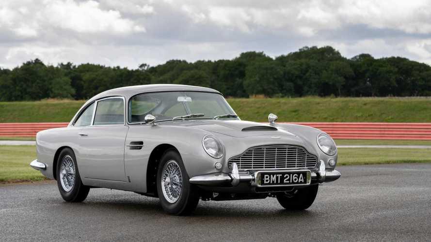 Aston Martin показал первую реплику «бондовского» DB5