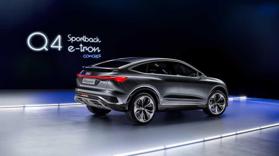 Audi Q4 Sportback e-tron Concept é novidade que aposta no estilo SUV-Coupé