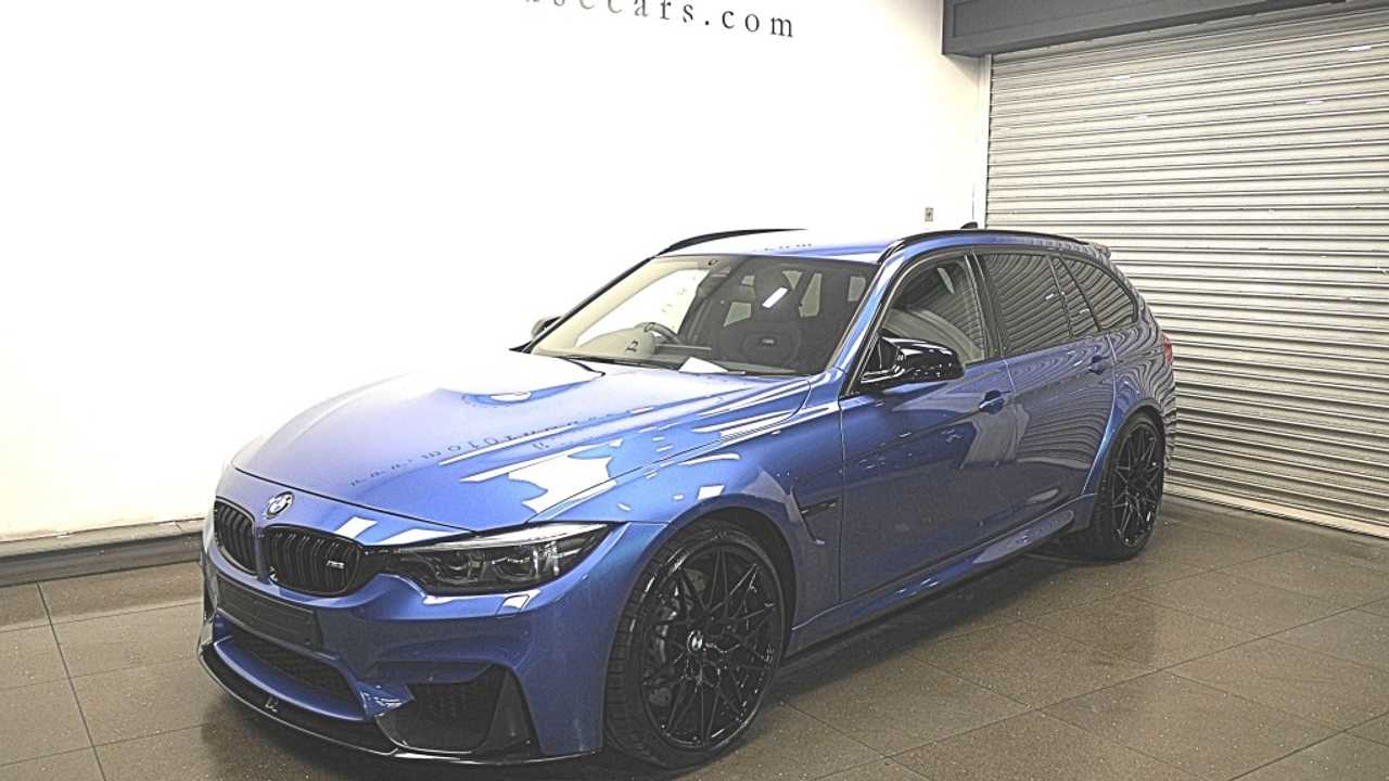 BMW 3 Series Diesel Turned Into M3 Touring Could Be Yours