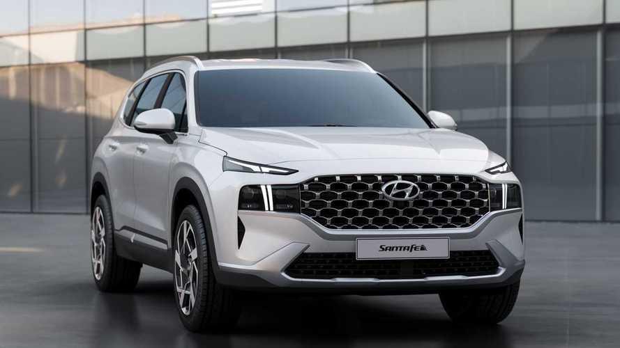 Hyundai Santa Fe 2021 estreia com visual renovado e propulsão híbrida