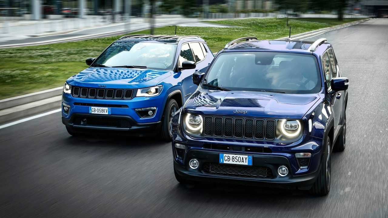 Jeep Compass 4xe and Jeep Renegade 4xe