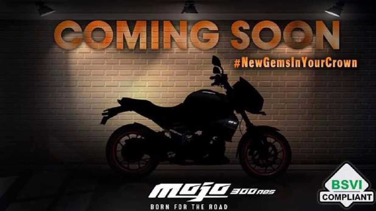 Mahindra Is Updating The Mojo 300