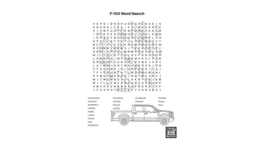 Развивающая детская книжка от компании Ford