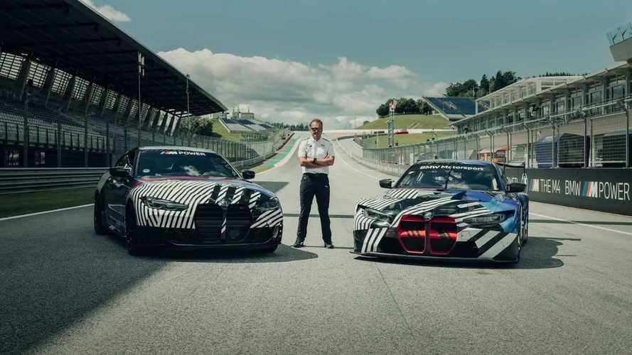 Тизеры BMW M4 и M4 GT3