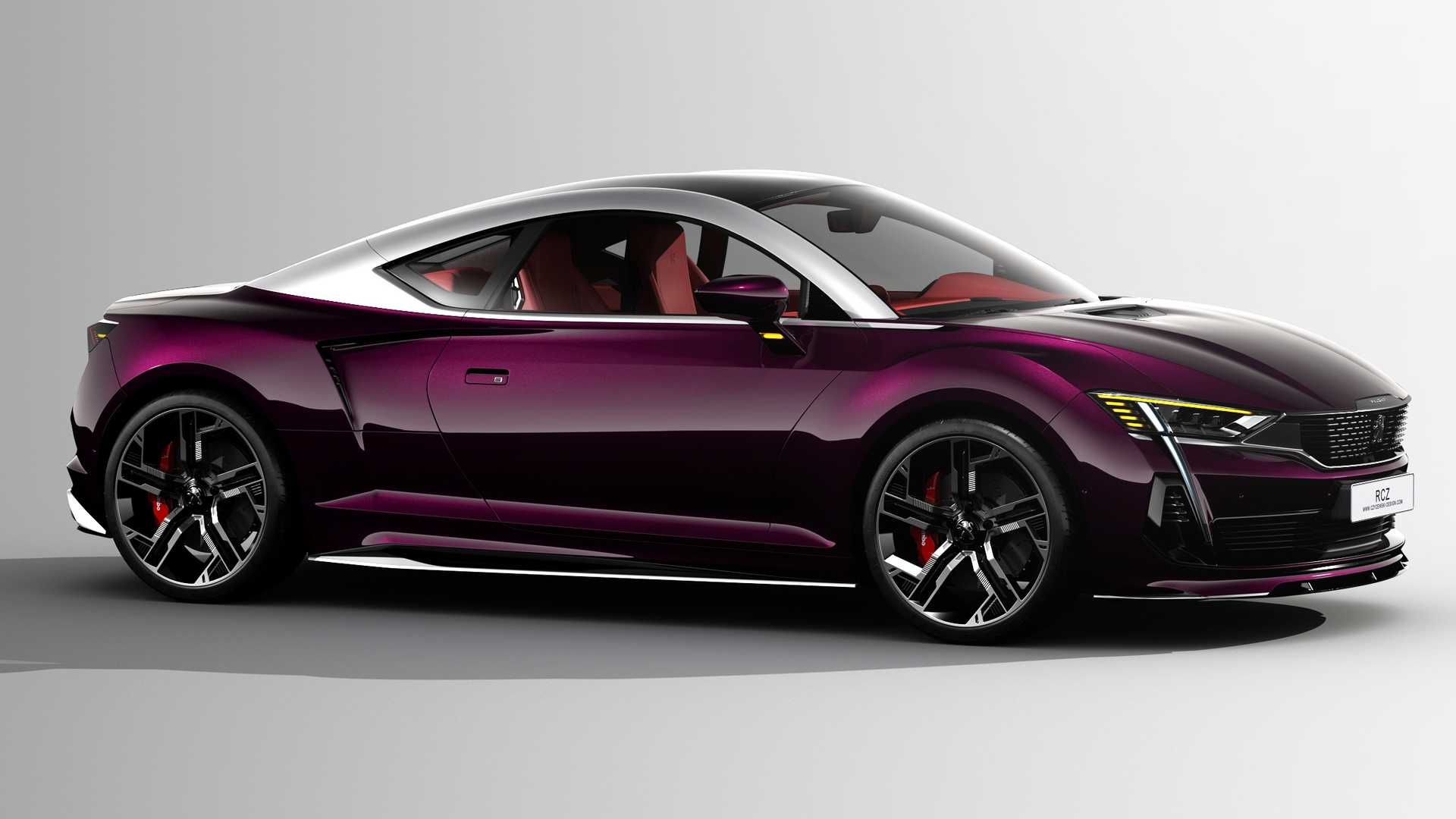 2020 Peugeot Rcz Concept Rendering Imagines Stunning Sports Coupe