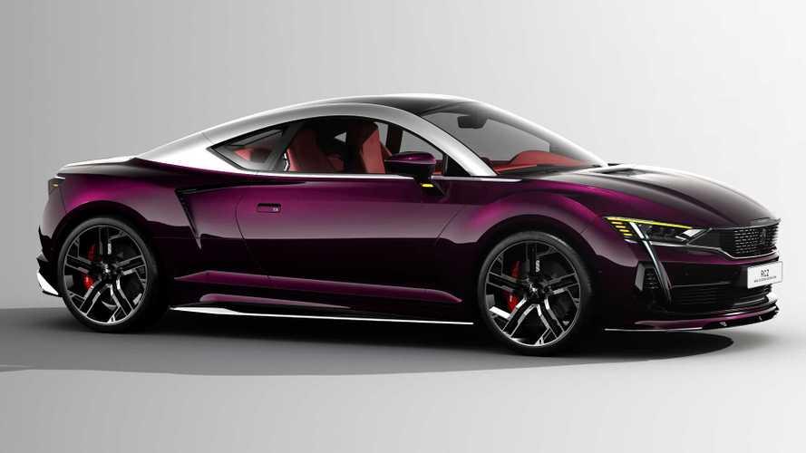 2020 Peugeot RCZ concept rendering