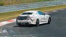 2021 bmw m4 spied nurburgring