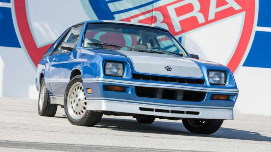 This is Carroll Shelby's personal 1983 Dodge Shelby Charger