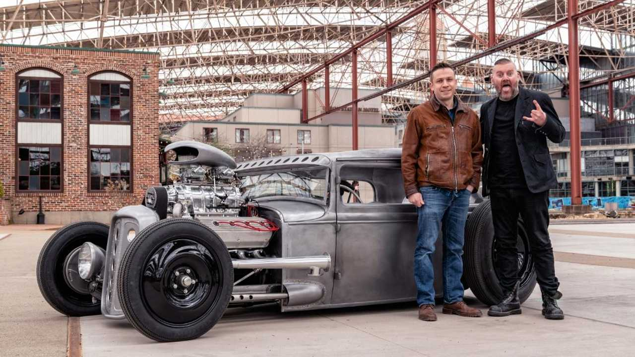 Rock star's 1930 Ford Model A hot rod is a bare metal monster