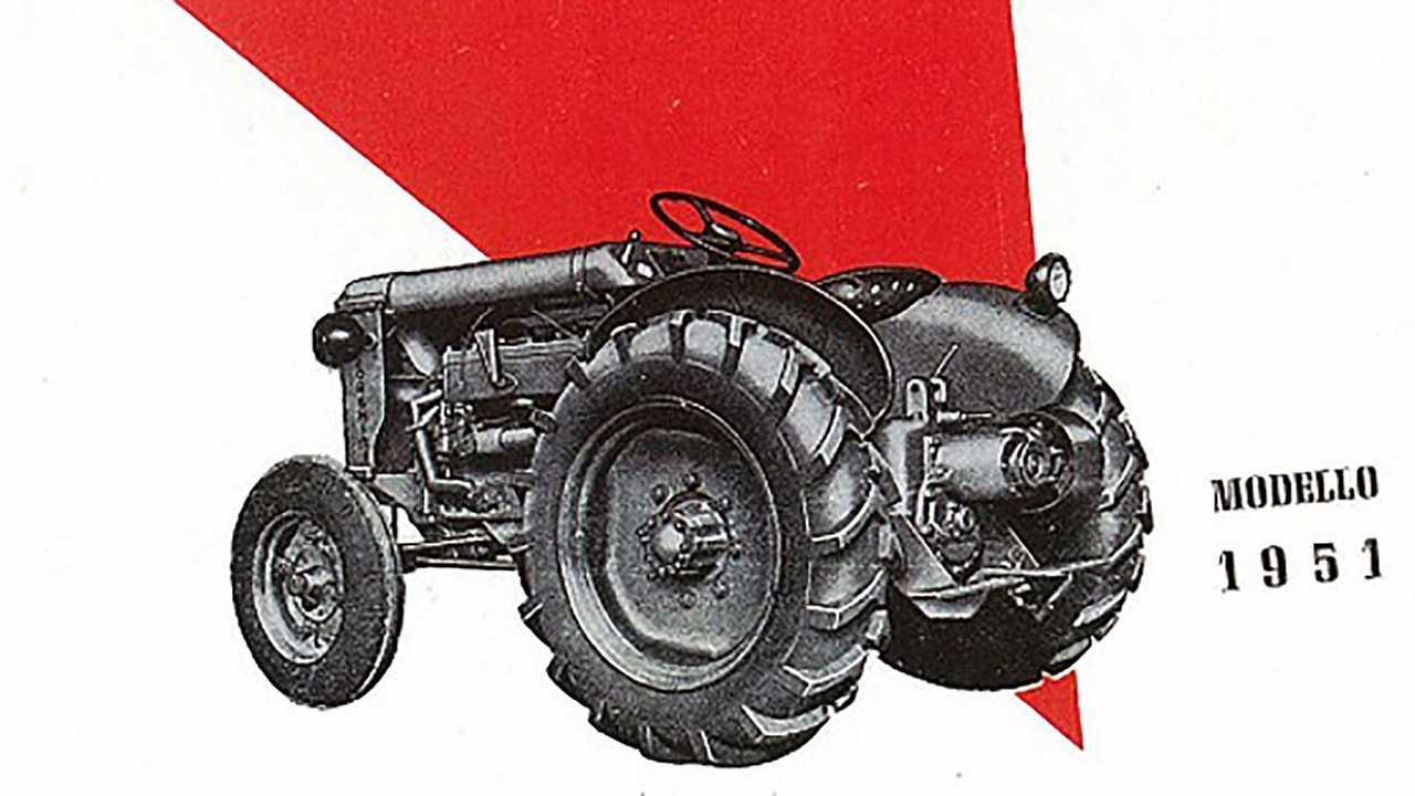 5. Lamborghini L 33 Tractor