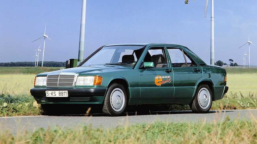 Tesla chi? Mercedes 190E Elektro, un'elettrica nei ruggenti anni '90
