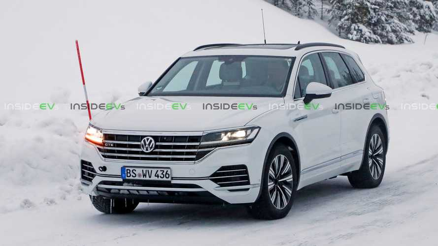 Check Out The Upcoming Volkswagen Touareg GTE PHEV