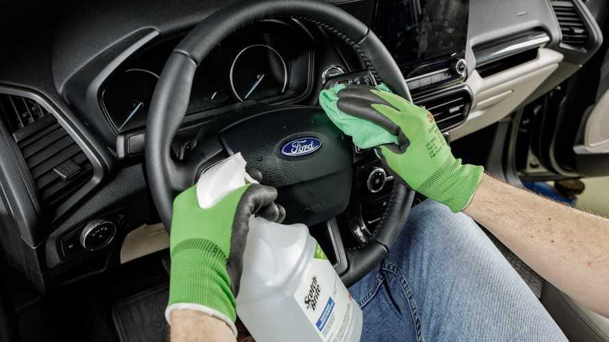 Ford lança serviço de desinfecção de carros que elimina coronavírus