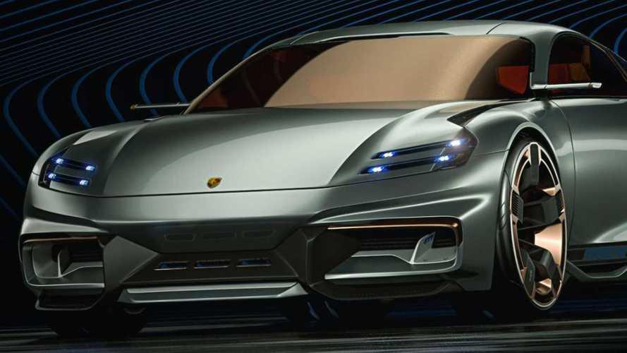 Íme egy futurisztikus Porsche, ami szakít a hagyományokkal