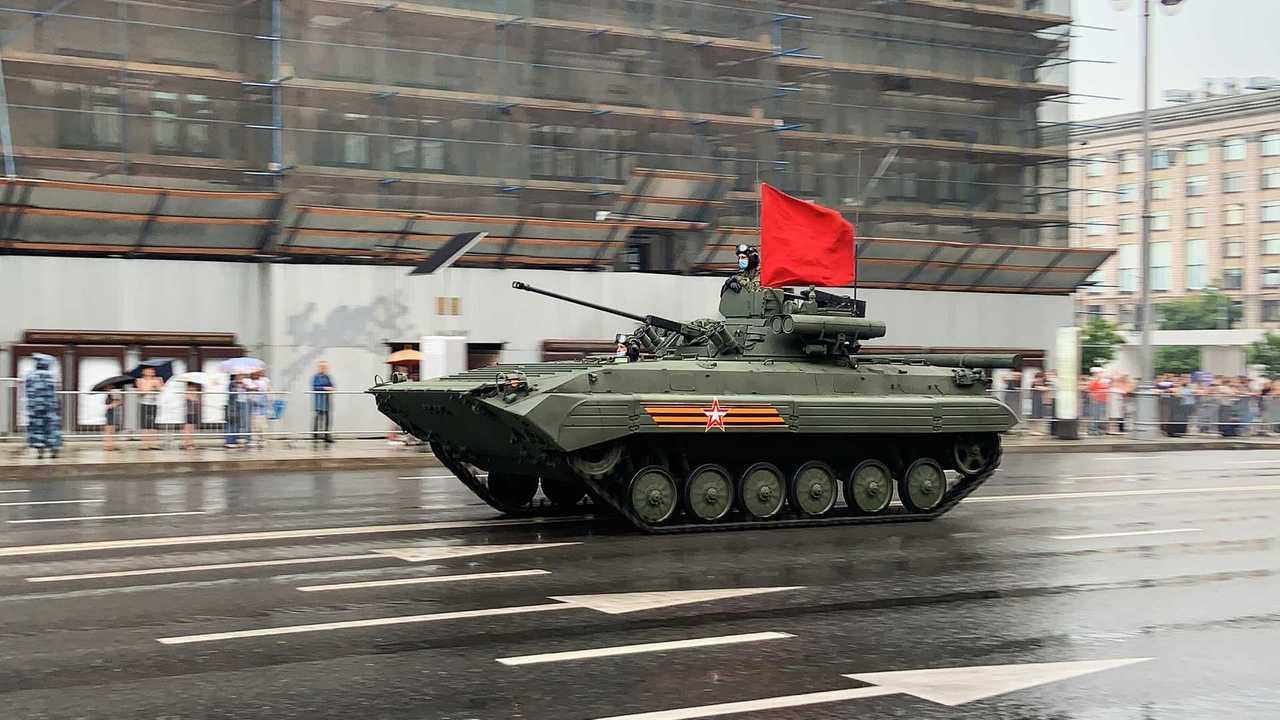 БМП-2М с боевым модулем «Бережок»