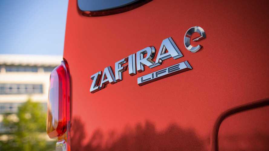Opel Zafira-e Life ecco i prezzi per l'italia anche con ecoincentivi