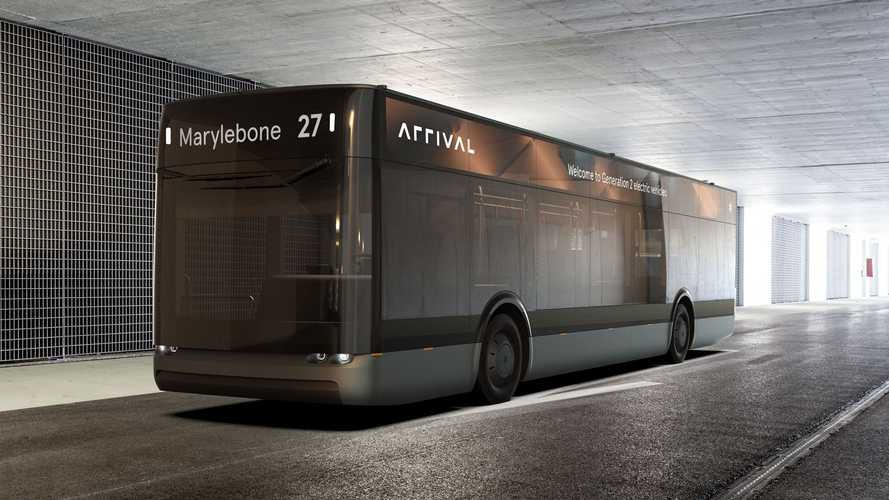 Meet the futuristic-looking electric Arrival Bus