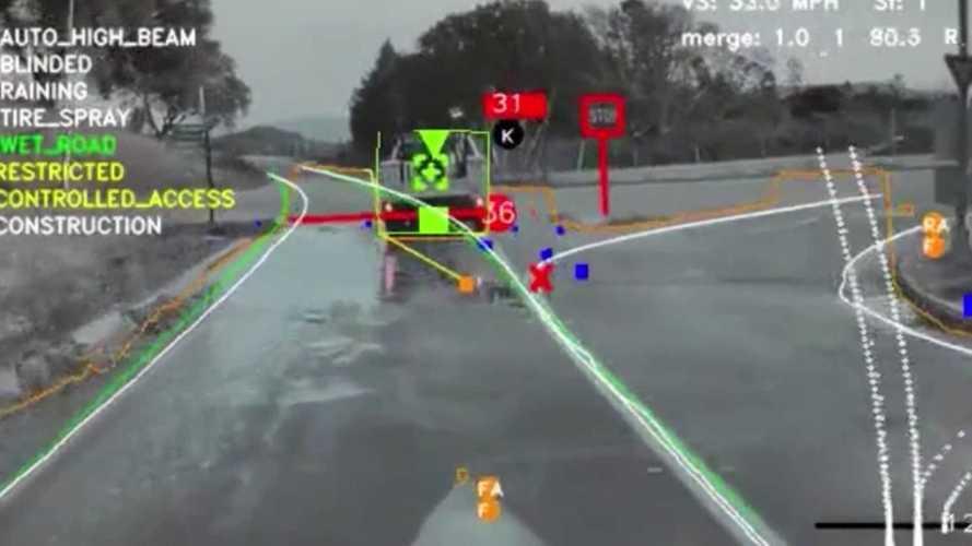 """Ecco come vede la realtà l'Autopilot di Tesla (e come """"ragiona"""")"""