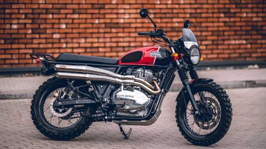 Royal Enfield vai lançar novas motos na linha 650, incluindo uma Scrambler