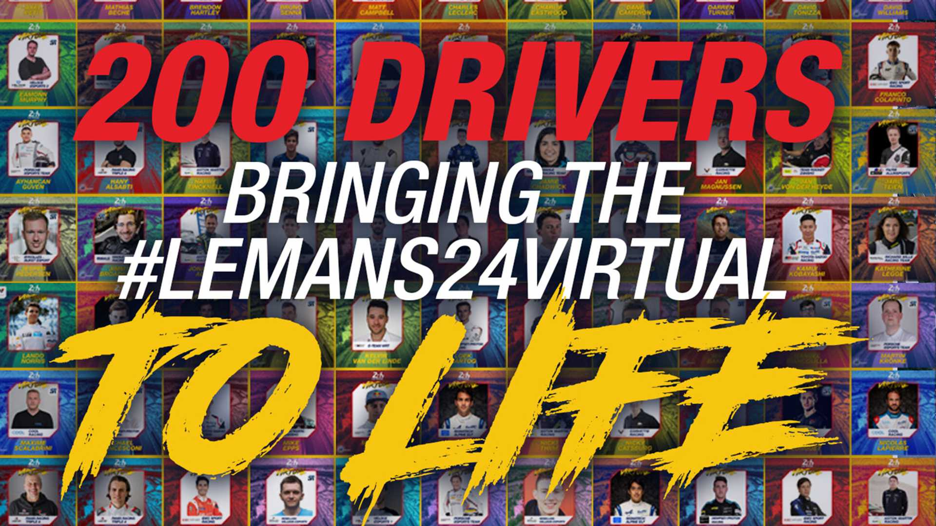 Le Mans 24 Virtual Entry List Announced And Stacked With Stars