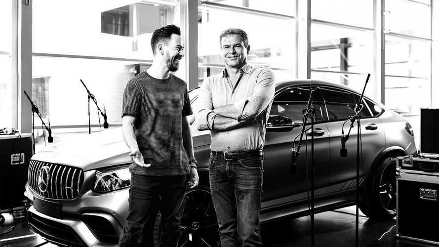 AMG travaille le son de ses futurs moteurs avec Mike Shinoda