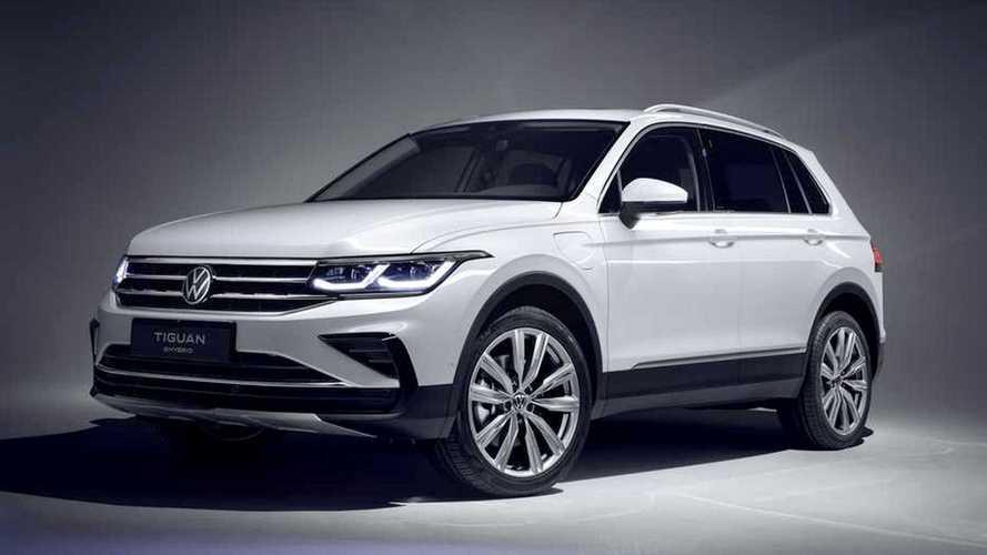 Este é o novo Volkswagen Tiguan 2021 com versão híbrida plug-in de 245 cv