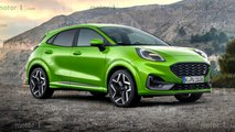 ford puma st 2020 render
