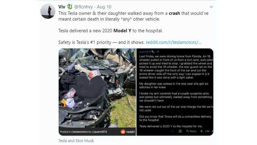 Tesla Model S Proves Incredibly Safe In Collision With Semi