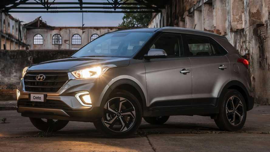 Hyundai Creta alcança marca de 200 mil unidades produzidas no Brasil