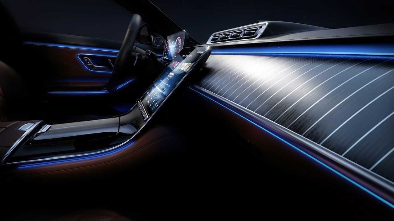 2021 Mercedes-Benz S-Class Ambient Lighting