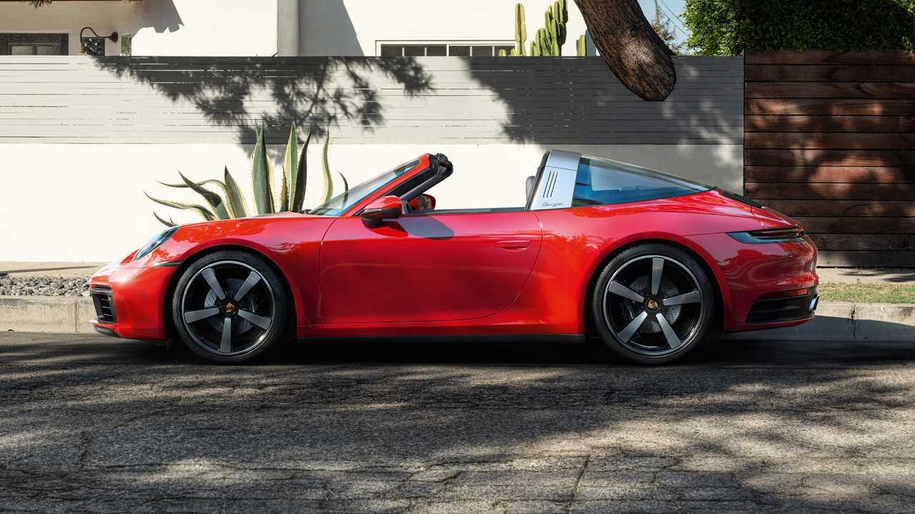 Porsche 911 Targa 4 y Targa 4S 2020