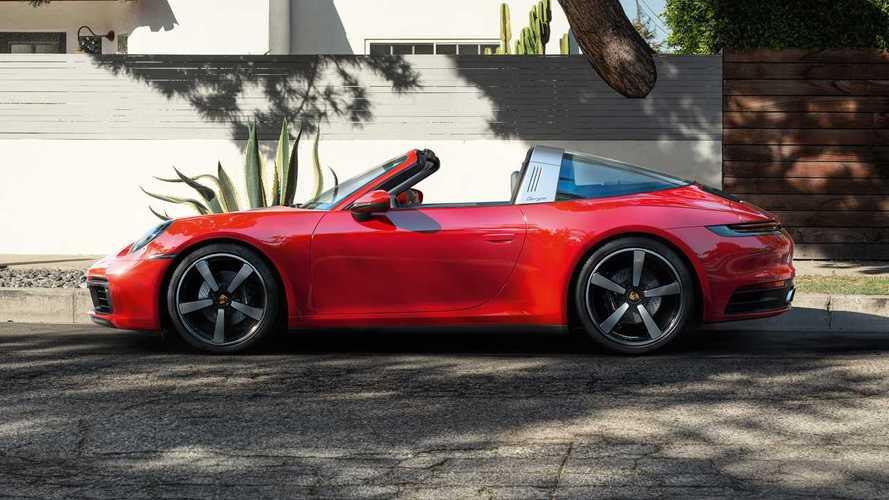 Porsche 911 Targa 4 and Targa 4S 2020