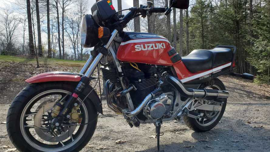 This Turbocharged Suzuki GS1150 Is The Ultimate Air-Cooled Muscle Bike
