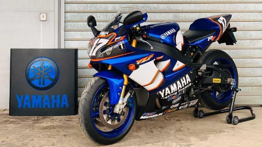 Usato per pochi: in vendita una rara Yamaha YZF-R7 Replica Bol d'Or