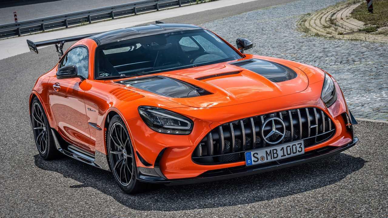 2021 Mercedes-AMG GT Black Series fascio di magma