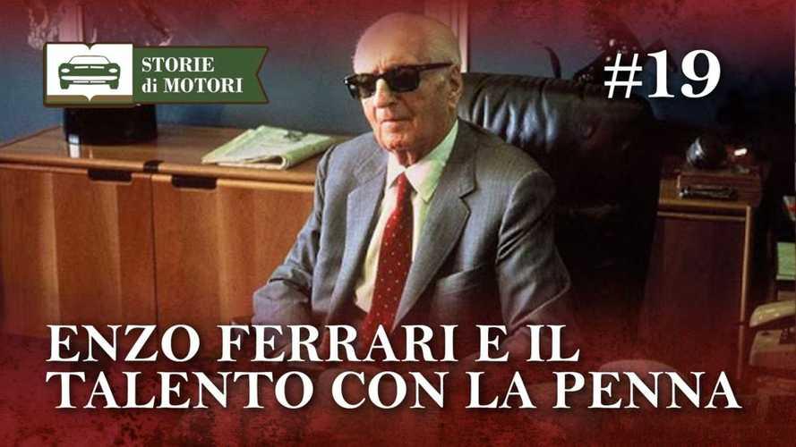 Enzo Ferrari: pilota, costruttore e anche scrittore