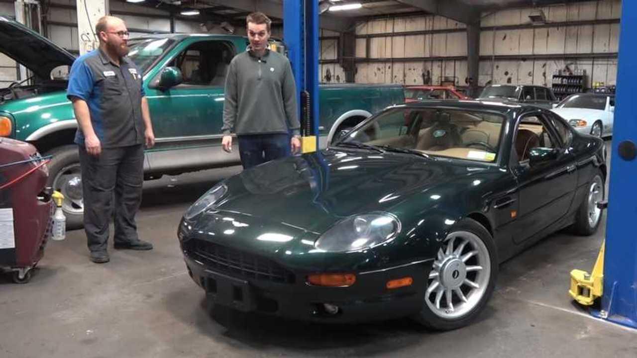Is the U.S.'s cheapest manual Aston Martin DB7 worth it?
