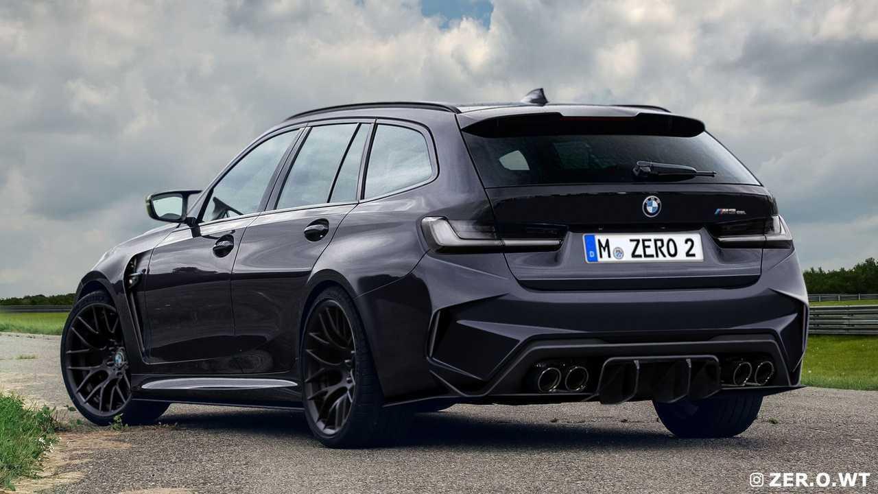 BMW M3 Touring ve Sedan Render