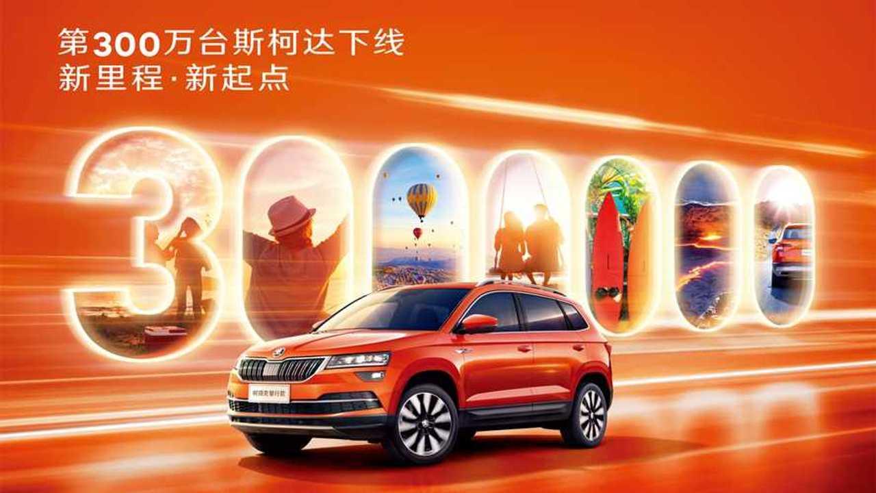 Skoda, in Cina tagliato il traguardo delle 3 milioni di auto prodotte
