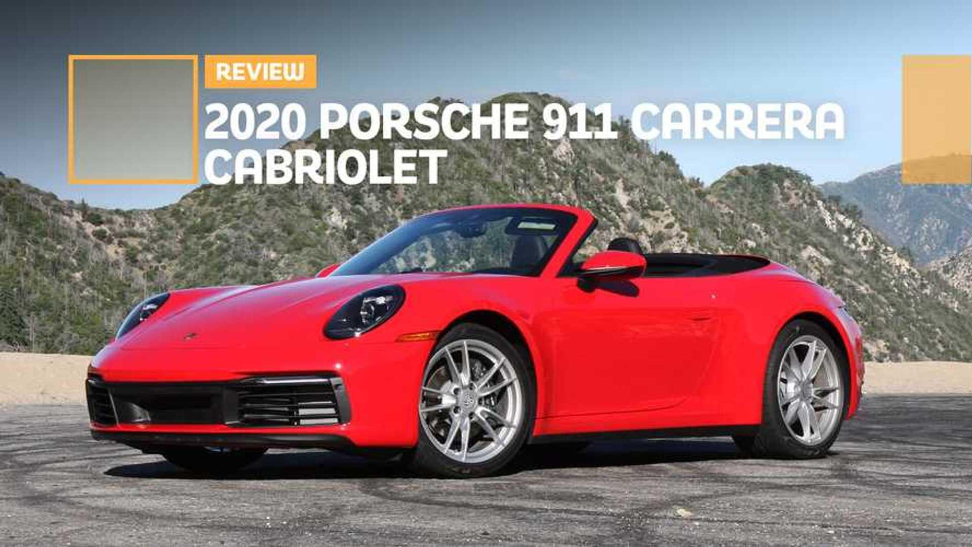 2020 Porsche 911 Carrera Cabriolet Base Model Beauty