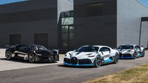 Bugatti Divo first units
