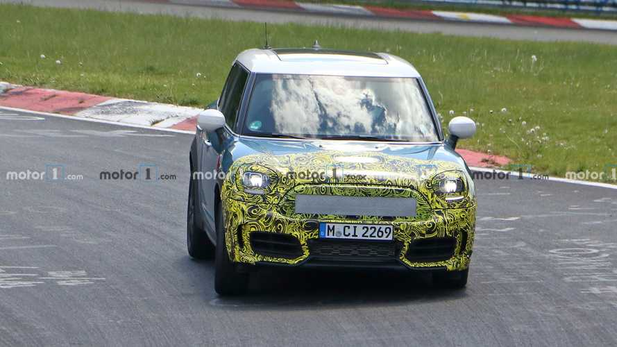 Mini Countryman New Spy Photos